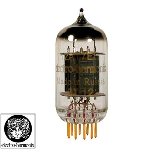 Brand New Gain Tested Electro-Harmonix 12AT7 ECC81 Gold Pins Vacuum Tube
