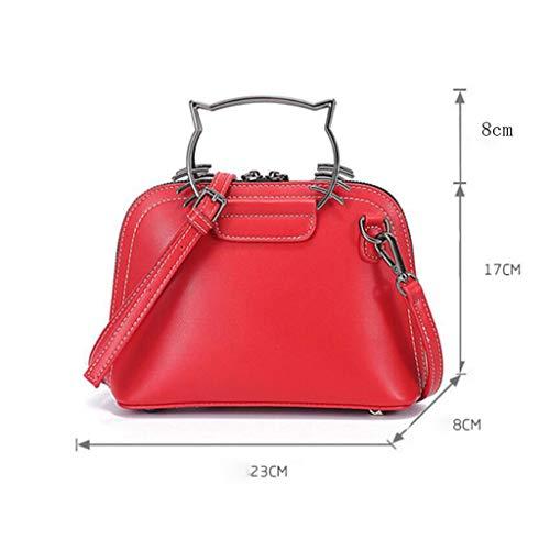 marrone regolabile Trend colore tracolla Viola unica da taglia tracolla Borse donna Versatile EX08Xq