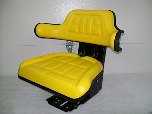 Suspension Seat John Deere Tractor Yellow 1020, 1530, 2020, 2030, 2040, 2150 #IE