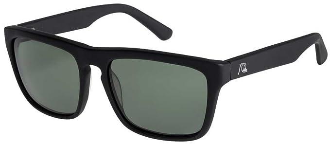 e3ec880da2 Quiksilver The Ferris Premium Sunglasses - Matte Black/Green Polarized