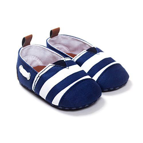 Babyschuhe Sohle Soft Striped Krippe Baby Girl Schuhe Printed Auxma 6FwrqT6xf