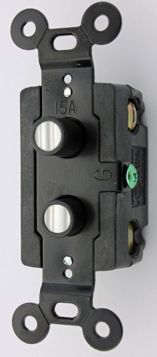 Push Button Light Switch (Classic Accents, Inc. Single Pole Push Button Switch Double Pearl)