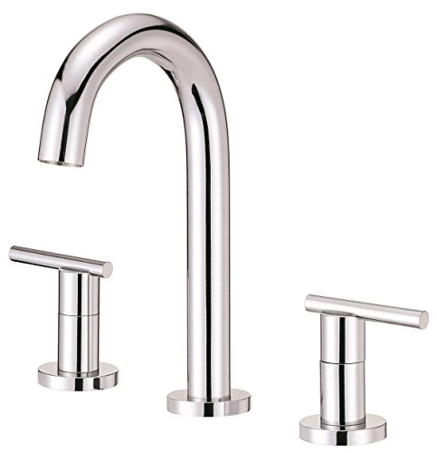 (Danze D304658 Parma Two Handle Mini-Widespread Lavatory Faucet, Chrome )