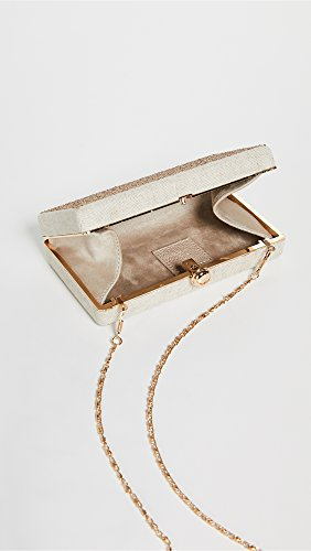 Oatmeal Women's Deux Lux Box Clutch fqfZOvxC
