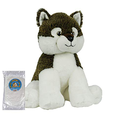(Stuff Your Own 16 inch No Sew Animal Kit - Wile Wolf by The Bear Factory - Also Available Stuffed and A Name Personalized Singing Version (KIT))