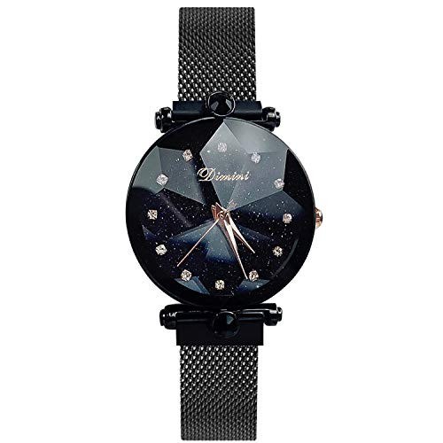 RORIOS Fashion Analogue Quartz Watches Magnetic Mesh for sale  Delivered anywhere in Canada