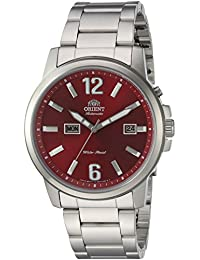 Orient Men's 'Starfish' Japanese Automatic Stainless Steel Casual Watch, Color:Silver-Toned (Model: FEM7J009H0)