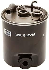 Mann-Filter WK 842/18 Filtro para Combustible