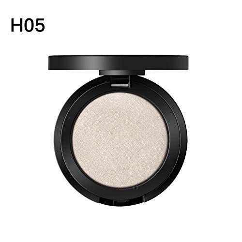 Yiitay Professinal Facial Highlighter Shimmer Highlight Makeup Face Contour Makeup Glow Highlighter Cream Bronzer and Illuminator Highlight & Contour Powder for Cheek Face Eye Nose