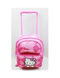 Small Rolling Backpack - Hello Kitty - Pink Checker [Toy]