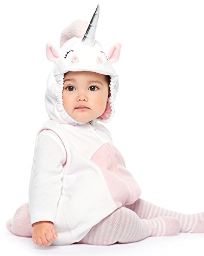 Carter's Baby Girls' Little Unicorn Costume 6 (1 Year Old Baby Girl Halloween Costumes)