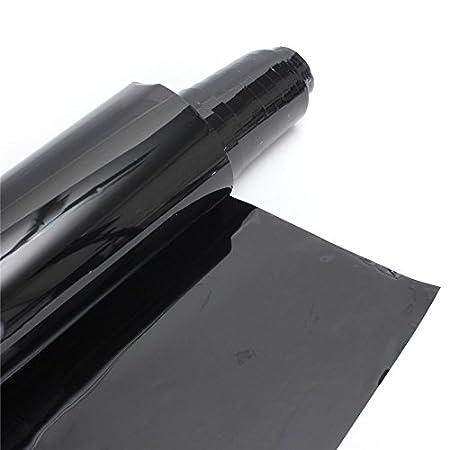 35 percento XZANTE 50cm X Pellicola per oscuranti per vetri oscuranti VLT Nero Resistente ai Graffi Anti UV per trasmissioni Commerciali per Auto Auto