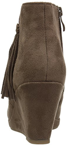 Brinley Co Womens Elani Ankle Boot Taupe 7JdliX
