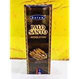 Satya Palo Santo Incense Sticks | 6 Packs x 20 Sticks | Box of 120 Sticks