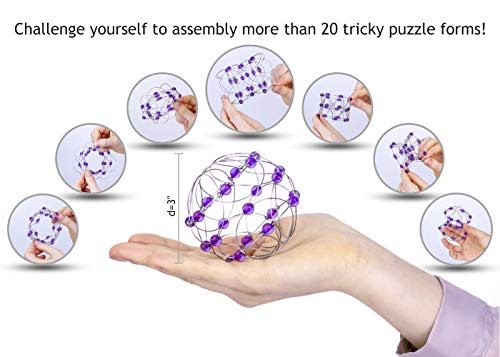 Sensory Anxiety Toys for Kids – Autistic Children – Office Stress Relief Gift – Family Brain Teasers – Teens Gifts…