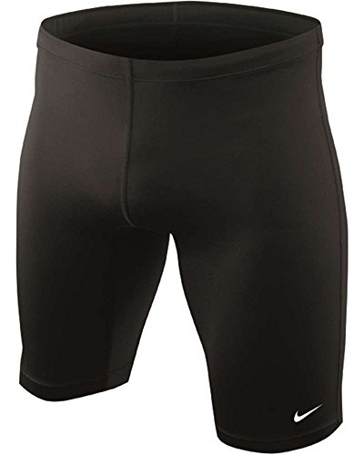 Nike Swim TESS0036 Mens Poly Core Solid Jammer, Black-36