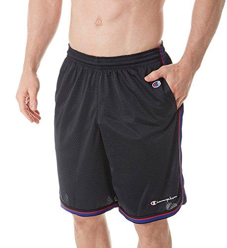 Short Mens Jersey Champion (Champion Men's Core Basketball Short, Black, M)
