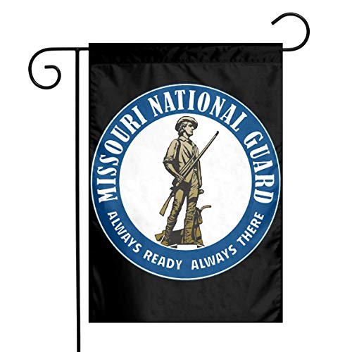 Missouri National Guard Garden Flag House Banner for Party Yard Home Outdoor Decor (Border Guard National)