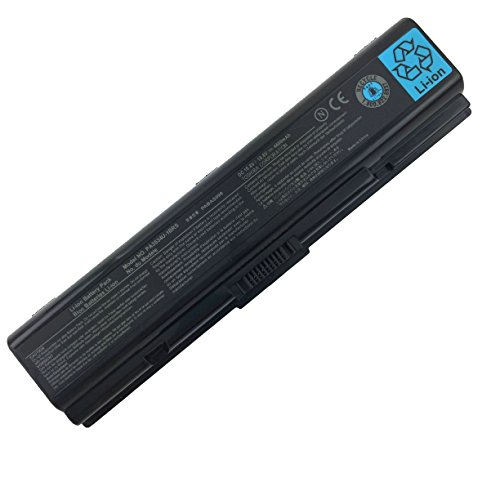 Series Battery L500 - New Laptop Battery for Toshiba Satellite PA3534U-1BRS PA3534U-1BAS PABAS098 A200 A205 A210 L305 L500 Series [10.8V 4400mAh]