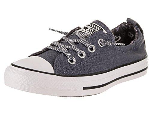 Converse Vrouwen Chuck Taylor All Star Kustlijn Slip-on Casual Schoen Licht Carbon / Wit / Zwart