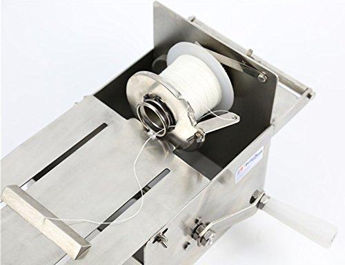 Handle Stainless steel sausage tying knotting machine sausage casings binding machine smoked sausage knot machin sausage linker machine (Max. Sausage diameter: 0-32mm) by CGOLDENWALL (Image #5)