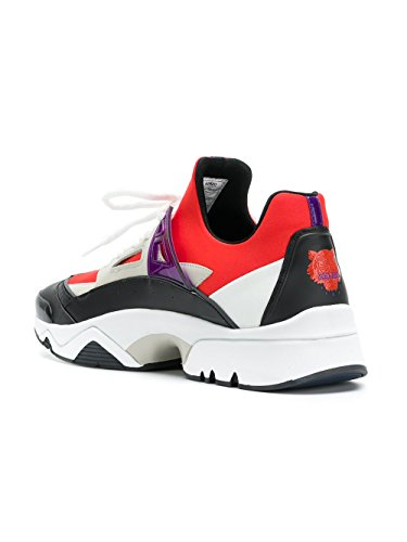 Kenzo Mannen F855sn350f5521 Wit / Rood Sneakers Polyamide