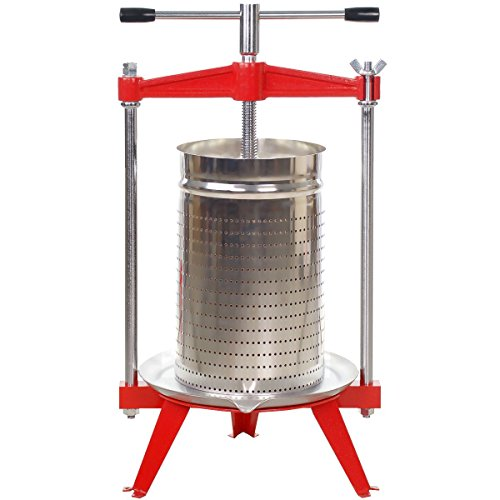 Harvest Bounty Fruit Press 5 Gallon + Stainless Basket by Harvest Bounty (Image #3)