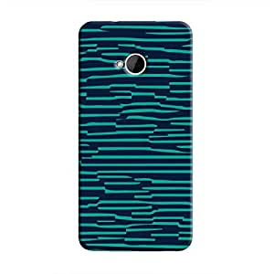 Cover It Up - Dark Teal Wood One M7Hard Case