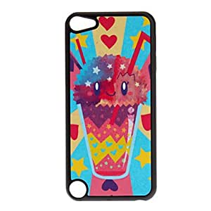 hao Shimmering Cute Colorful Cup Pattern Hard Case for iPod touch 5