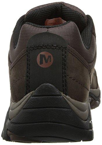 Merell Mænds Moab Rover Vandresko, Holdbare Og Komfortable I Sofistikeret Læder Øvre Og Slidstærk Stof Espresso