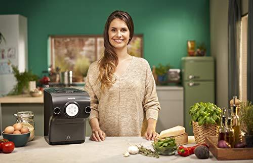Philips Maker Avance HR2382/15 Macchina per Preparare Pasta Fresca con Bilancia Integrata, Programmi Automatici, 200 W… 2