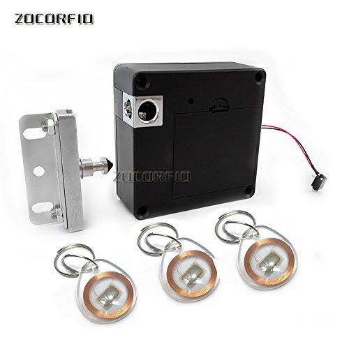 NFC RFID Keyless RFID Hidden Cabinet Lock Private Card Lock Castle Black Electronic Invisible Digital Cabinet Door Lock - Nfc Kit Box