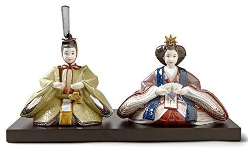 リヤドロ 雛人形 Lladro ひな人形 雛 親王飾り 本体のみ 台座付 h313-01009373   B07N66W5SB