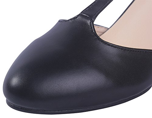 AgeeMi Shoes Hebilla PU Womens Tac FYffqw7P