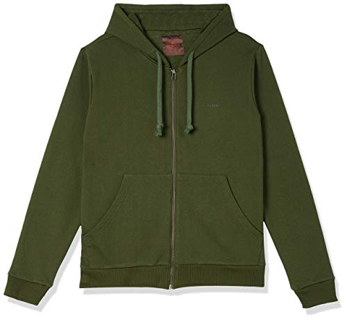 Jaqueta de moletom com capuz, Colcci, Masculino, Verde Bennet, P