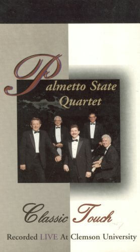 PALMETTO STATE QUARTET Classic Touch -  VHS Tape, Rated G