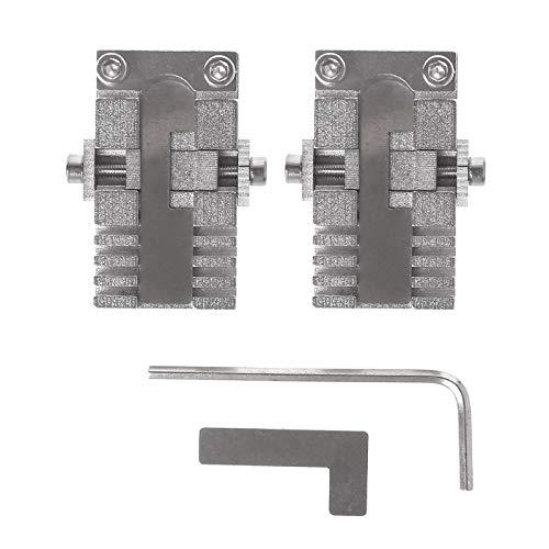 Cowmole Co. Key Clamping Fixture Duplicating Cutting Machine For Car Key Copy Tool Universal #Aug.26 (Key Duplicator Machine)