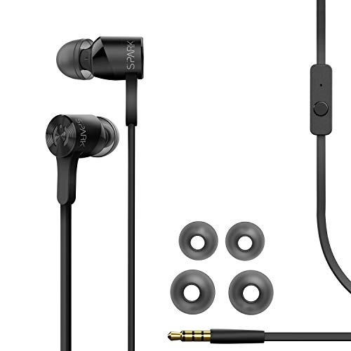 MuveAcoustics Spark Wired in-Ear Headphones - Sports Noise C