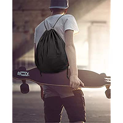 kemimoto Helmet Backpack, Multi-purpose Drawstring Bag, Anti-dust, Lightweight Storage Bag for Motorcycle Sport Gym Training Hiking Travel Bags, Special Gift: Automotive