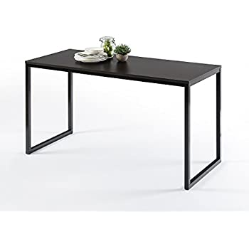 black office table. Zinus Modern Studio Collection Soho Rectangular Dining Table / Only /Office Desk Computer Black Office