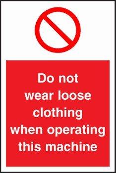 Diseño con texto en inglés prohibición - correa de distribución trapezoidal en ropa no se debe