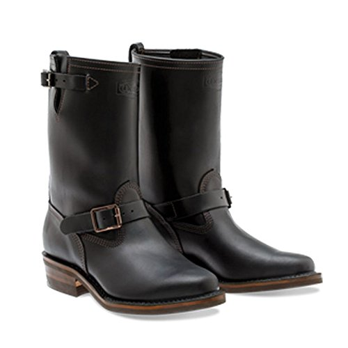 31d8960dd21d Jual Wesco Boss 7400 Leather Motorcycle Black Boots