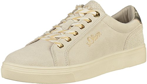 23620 oliver Blanc Basses S Femme Sneakers nPY5wwCq