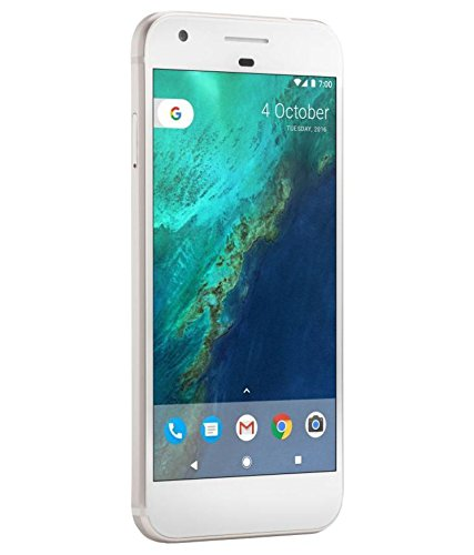 Google Pixel Refurbished (Silver) - (Certified Refurbished)