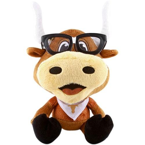 Fabrique Innovations NCAA Study Buddy Mascot Plush Toy, Texas Longhorns