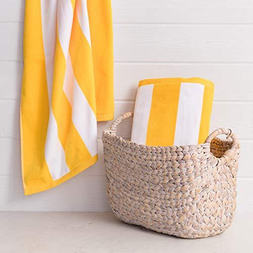 Welhome Cabana Beach Towel Supersoft