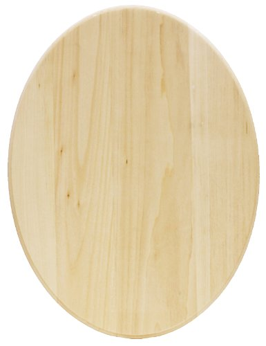 Walnut Hollow Basswood Plaque, Oval -