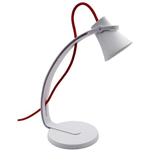 ALEX Lampe de bureau à LED 3, 2 W Lampe à poser pour enfants et bureaux modernes Moderne Noir 2 W Lampe à poser pour enfants et bureaux modernes Moderne Noir JVS-Handel