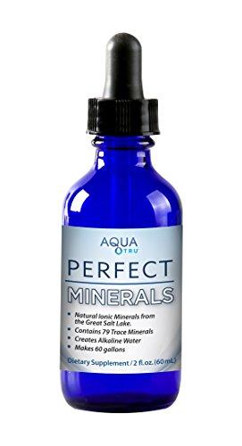 AQUA TRU AquaTru Perfect Minerals- Create Alkaline Mineral Water Countertop Reverse Osmosis Water Filter Purification System