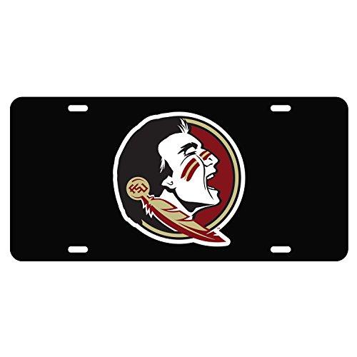 Florida State Seminoles Tag BLK/REF SEMINOLE HEAD TAG (Florida State Seminoles License Plate)